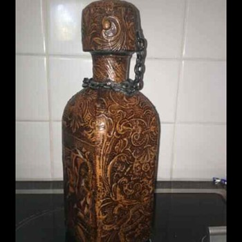 Leather bottle?