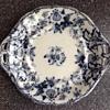 Minton. BB Newstone blue & white transfer ware plate. 1830-1860
