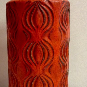 "West German Scheurich ""Onion"" Vase"
