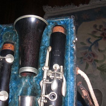 Old wood clarinets - Musical Instruments