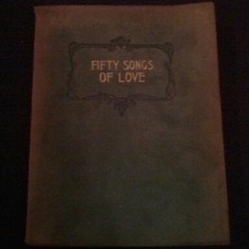 fifty songs of love  A collection of favorite love poems  j. f. mason
