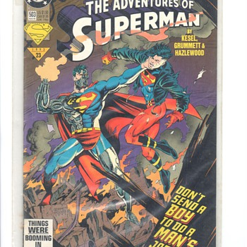 SUPERMAN COMIC - Comic Books