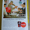 A Coca-Cola poster family remembers WW II days...