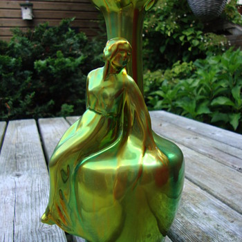 eosin glazed vase by zsolnay pecs