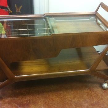 Italian Mid Century Bar Cart Mystery Item