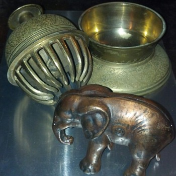 Elephant Bank &amp; Elephant Bell 