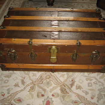 One of My Steamer Trunks