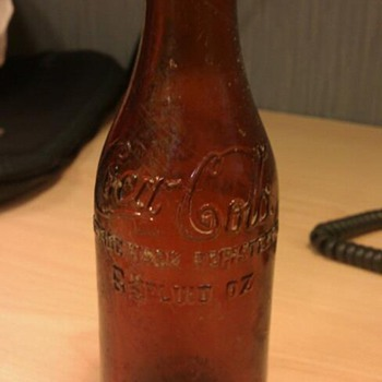 Found a Chattanooga Amber Coca Cola Bottle!