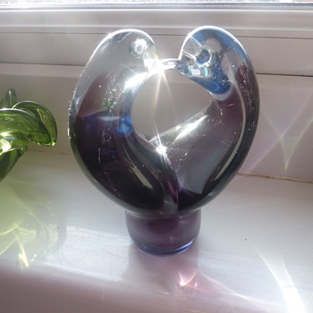 love birds - Art Glass