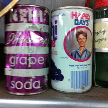 soda cans,thermos