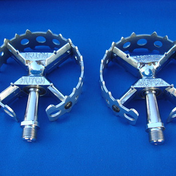 HUTCH BEAR TRAP PEDALS ORIGINAL OLD SCHOOL 1980&#039;S