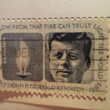 John F. Kennedy Stamp - Stamps
