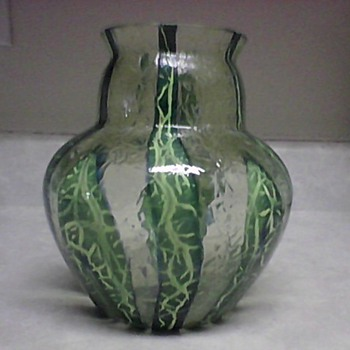 KRALICK BAMBUS GLASS VASE - Art Glass