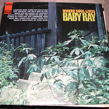 "BABY RAY WERE SOUL LIVES IMPERIAL RECORD LABEL ""SOUL"" - Records"