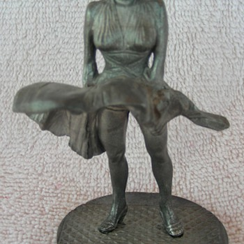 Marilyn Monroe Pewter Figurine - Movies
