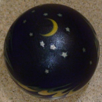 "Paperweight Lundberg Studios ""Night Sky"" 1988"