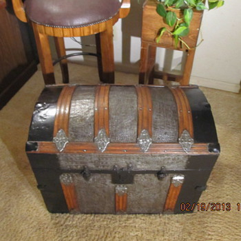 Refinished Dome Top Trunk - Furniture
