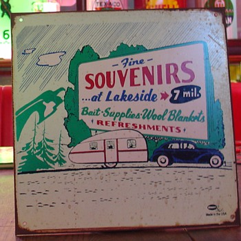 Camping...Tin Sign - Signs