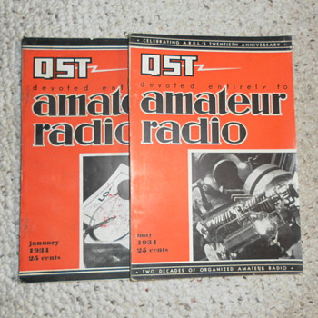 SHORTWAVE RADIO  MAGAZINE QST - Radios