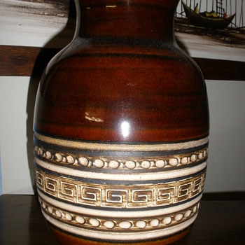 German pottery vase.