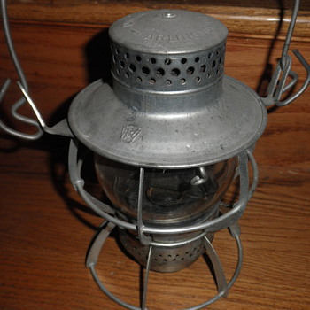 Dressel Pennsylvania Railroad lantern