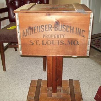Anheuser Busch Inc., St. Louis Mo telephone inside.
