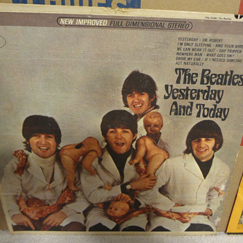 Finally got my Holy Grail - Stereo Beatles Butcher Cover!  To repair or not to repair? - Records