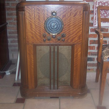 Scott Console Radio - The Stradivarius of Radio - Radios