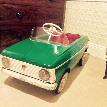 Moskvich Pedal Car - Model Cars