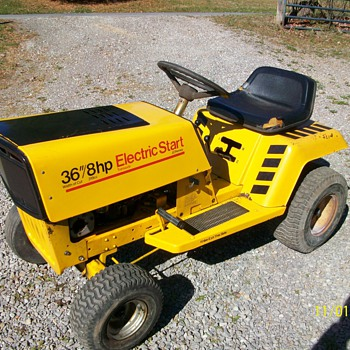 Rare JC Penney Riding Mower - Tractors