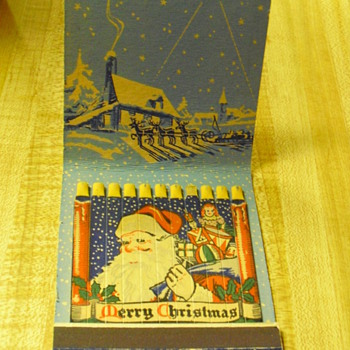 Old Christmas matches