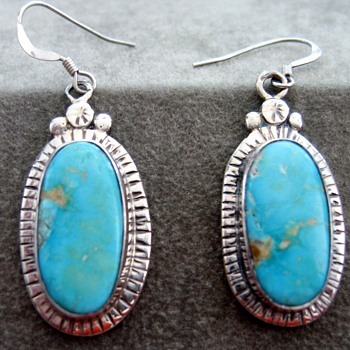 Great Turquoise Earrings!