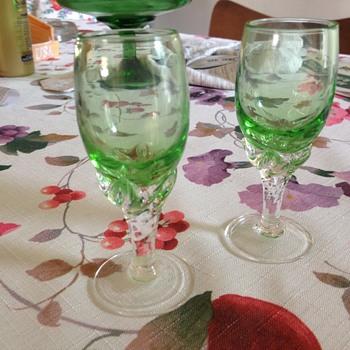 Creme de Menthe stemware? - Glassware