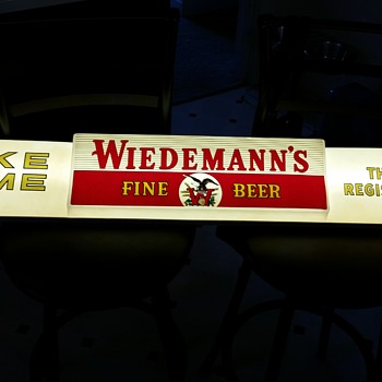 "Weidemann 48"" Lighted Beer Sign"