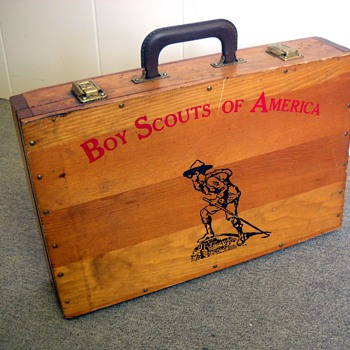 Boy Scouts of America Wooden Case - Outdoor Sports