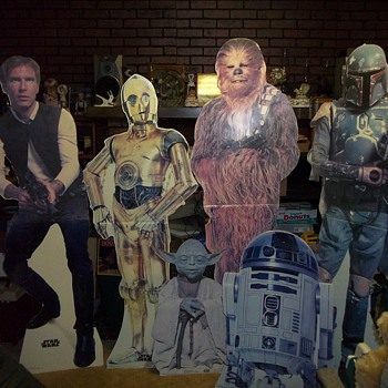 1993 LIFESIZE STARWARS POSTER FIGURES - Movies