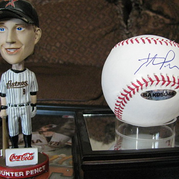 Hunter Pence -- My favorite Items of my Favorite Player