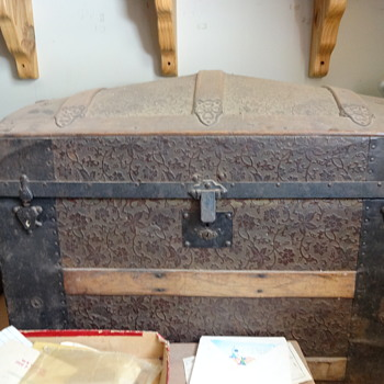 Great Great Grandma's Steamer Trunk