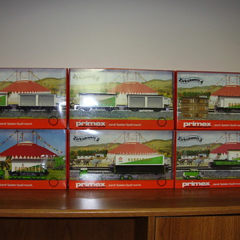 Marklin HO train boxed sets.