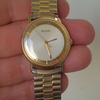 1959 Bulova Automatic cool looking watch - Wristwatches