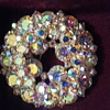 Juliana Rhinestone brooch