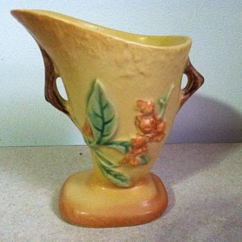 Roseville Bittersweet - Art Pottery