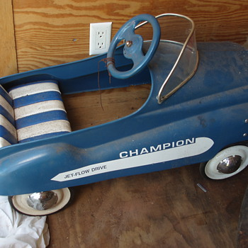Murray Dip Side Champion Pedal Car - twin to a Show & Tell Post!