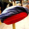 Hattie Carnegie Silk Dupioni Hat ... 50s
