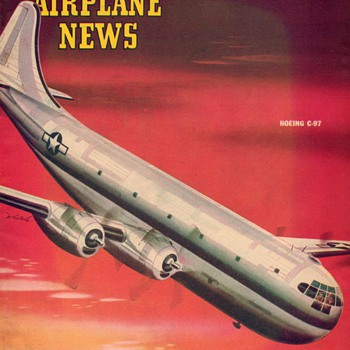 "1945 - ""Model Airplane News"" Magazine (April) - Paper"