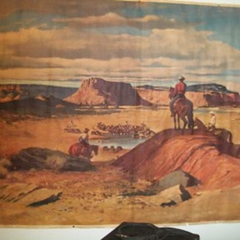 Western print artist?