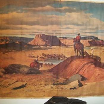 Western print artist?