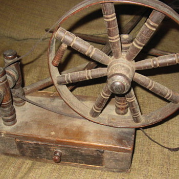 Information on my table top spinning wheel? - Sewing