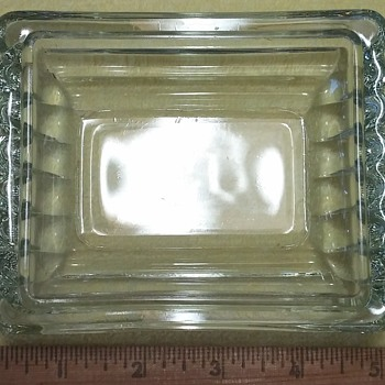 Rectangular Dish or Lid? - Glassware