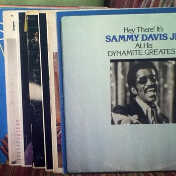 Sammy Davis, Jr. Record Lot - Records